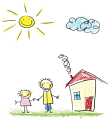 Glos Families Logo